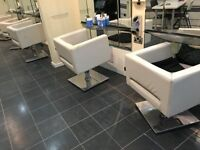 Urgent Deal - 5 Hairdressing salon chairs ONLY £5 - in need of new upholstery - ONLY £5 for 5 chairs