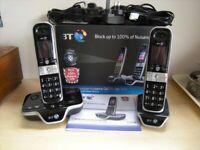 Bt Call Blocker Answer phone BT8600 two telephones