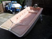 Tabur Yak Boat/Dinghy + Seagull Outboard