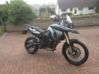 BMW F800GS Excellent condition, low mileage
