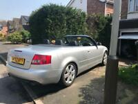 Audi A4 convertible 3l v6 automatic full leather