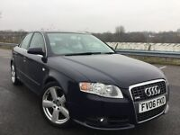 Audi A4 2.0 TFSI S Line 4dr 200 BHP+TWIN EXHAUST+S LINE