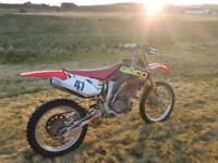 Honda crf450 motocross bike