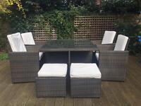 Cube Garden Set - 8 Seats