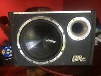 Vibe cbr10 subwoofer with built in amp