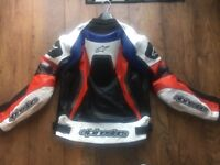 ALPINE STARS Motorbike JACKET SIZE XL but WILL FIT MED/LARGE