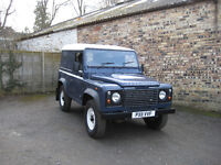 Land Rover Defender 90 Hard Top 2.4 TDCi 6 speed