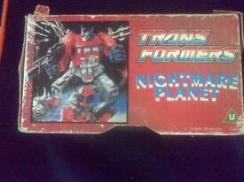 transformers nightmare planet
