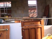 free for uplift - kitchen units would do for storage in shed or garage