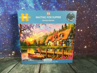Gibsons Waiting for Supper 500 Piece Jigsaw Puzzle