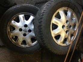 Mk2 Astra alloy wheels, nova Corsa etx