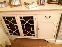 Lovely hand made painted cupboard