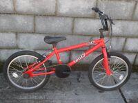 red bike bmx trax 20''