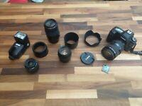 Canon Eos5 mk 2 digital SLR kit