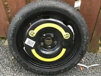 Spare wheel for Audi A3 never used