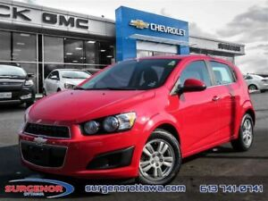 2014 Chevrolet Sonic LT 5 Dr Hatchback at - $81.96 B/W