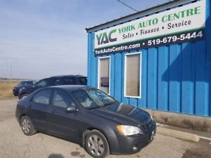 2005 Kia Spectra LX w/A/C, Cruise, P/Group & More!