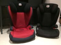 Pair of Britax Kidfix Group 2-3 Car Seats
