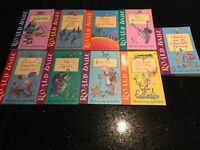 Roald Dahl books - selection of 9 books - excellent condition £5