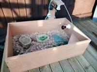 KOMODO tortoise table setup 36*24*10 inches