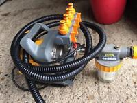 Hozelock Gareden Pump and Accessories