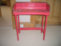 Childs Wooden Roll Top Desk