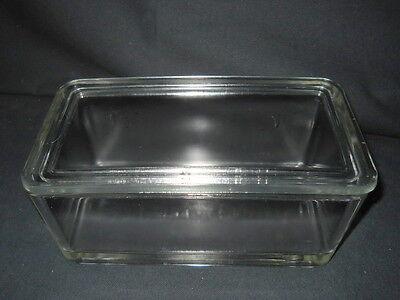 Wheaton 50-slide Glass Staining Dish Lid 68mm X 88mm X 185mm Inside No Rack