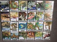 24 hardback dinosaur books