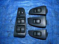 Left hand drive EU type window switch console set x2 Toyota Avensis T25 2003 - 2008 LHD version