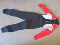 Wetsuit by Tribord. Full length for age 10yrs