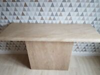 Marble Consul Table