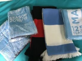 5 Manchester City Scarves