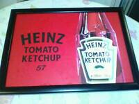 Heinz ketchup dinner tray (cushioned)