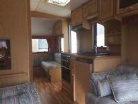 2001 ABI Award Nightstar 5 berth caravan for sale