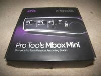 AVID Digidesign MBox 3 MINI , USB Audio / Midi interface for PC and MAC / Boxed !