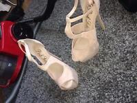 Gorgeous nude heels