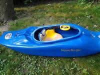 Kayak white water liquid logic river run and play