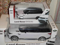2 x r/c range rover sport 1/14 and 1/24 scale