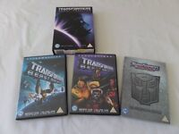 Transformers DVD's
