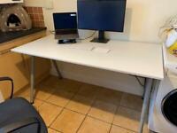 Height-adjustable desk (IKEA)
