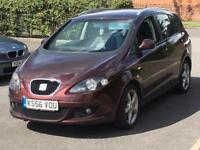 2007 SEAT ALTEA XL 1.6 TDI STYLANCE TOP SPEC VERY ECONOMICAL DRIVES BRILLIANT NICE COLOUR PX