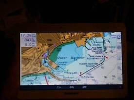 Marine navigation tablet.