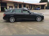 2009 Mercedes Benz C220 sport Estate Automacticall major credit or cards accepte 9d