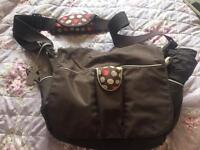 Rich brown colour Radley changing bag