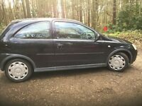Vauxhall Corsa long mot (cheap runner and tax) very tidy for the year