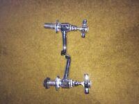 Victorian style bathroom sink taps