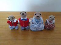 Sylvanian Otter family