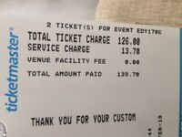 Future Islands in Dublin concert tickets x2
