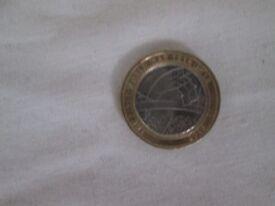 £2 - 2 pound the first world war 2016 coin