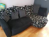 Dfs left corner sofa for sale only 3 years old fab condition